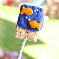 Goldfish Crispy Cereal Treat Recipe