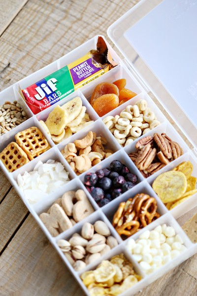 Road Trip Snack Container and Printable