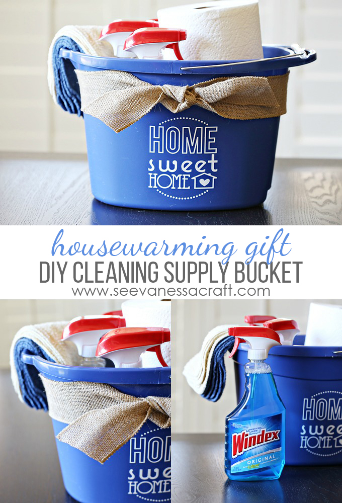 Cleaning Bucket Housewarming Gift copy