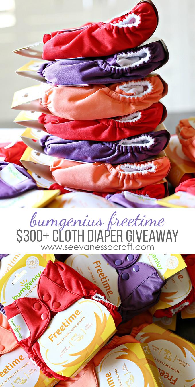 Cloth Diaper Stash Giveaway copy
