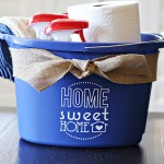 Craft: Cleaning Bucket Housewarming Gift