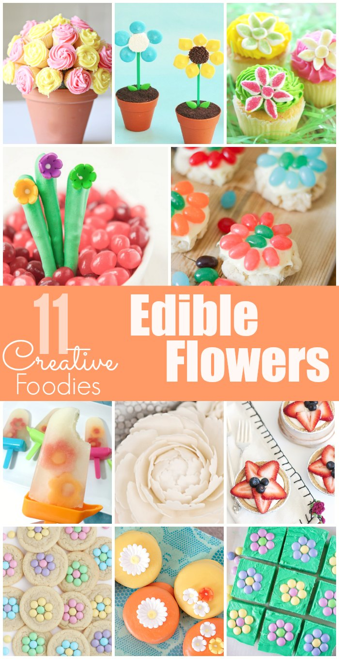 Edible Flowers Creative Foodies