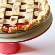 Lattice Crust Cherry Pie Recipe for Pi Day
