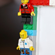 DIY LEGO Minifigures Frame for Kids