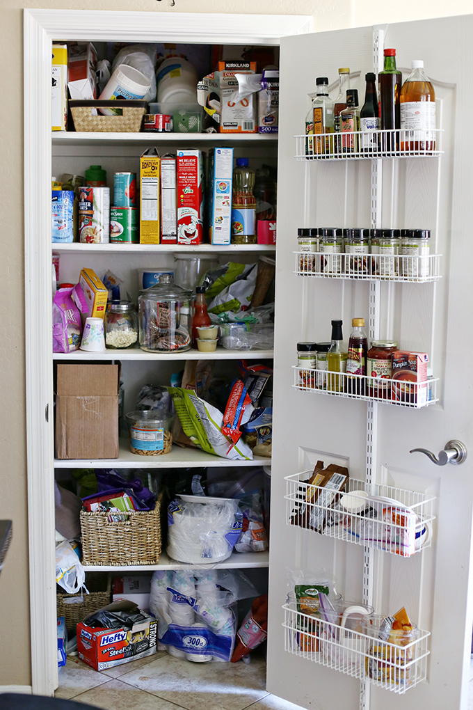 Pantry Makeover Before Photo copy