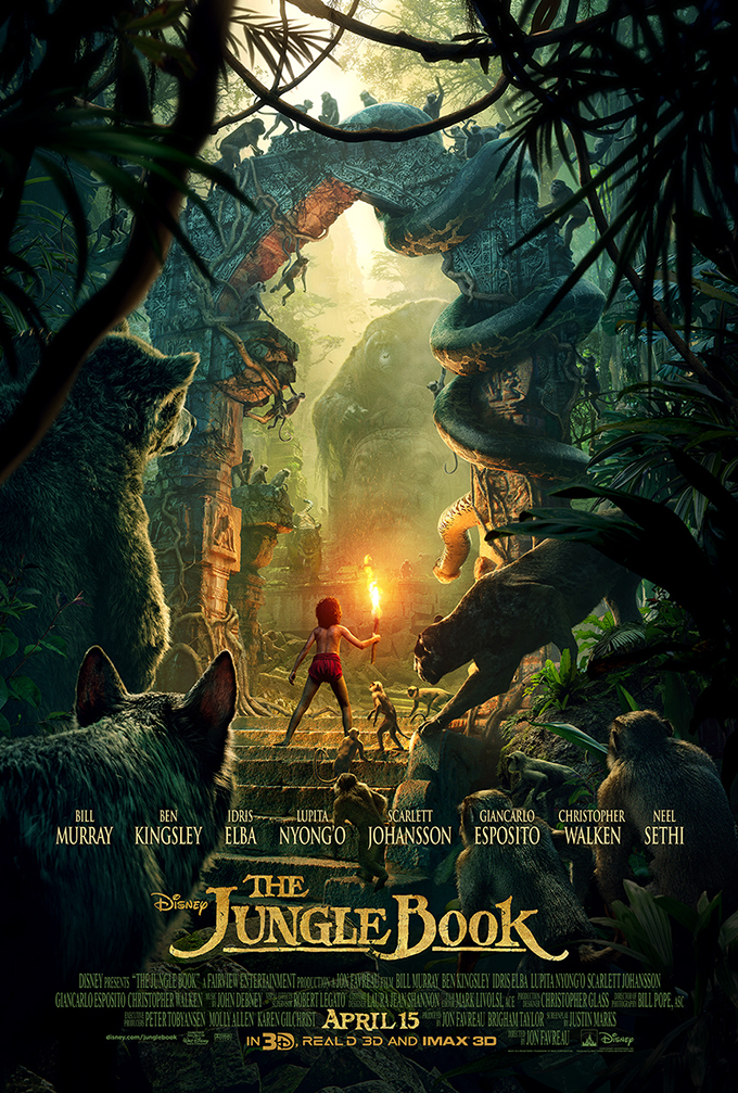 #JungleBookEvent Live Action Jungle Book Disney Movie