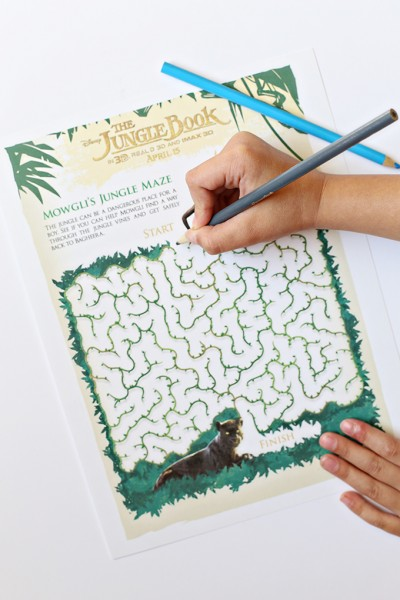 Jungle Book Activity Sheet copy