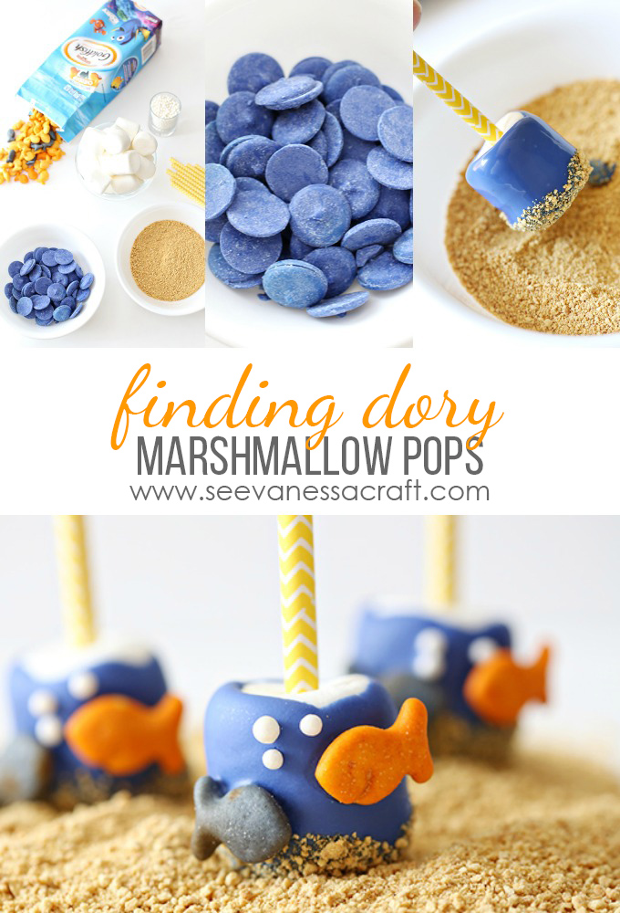 Disney Pixars Finding Dory Marshmallow Pops copy