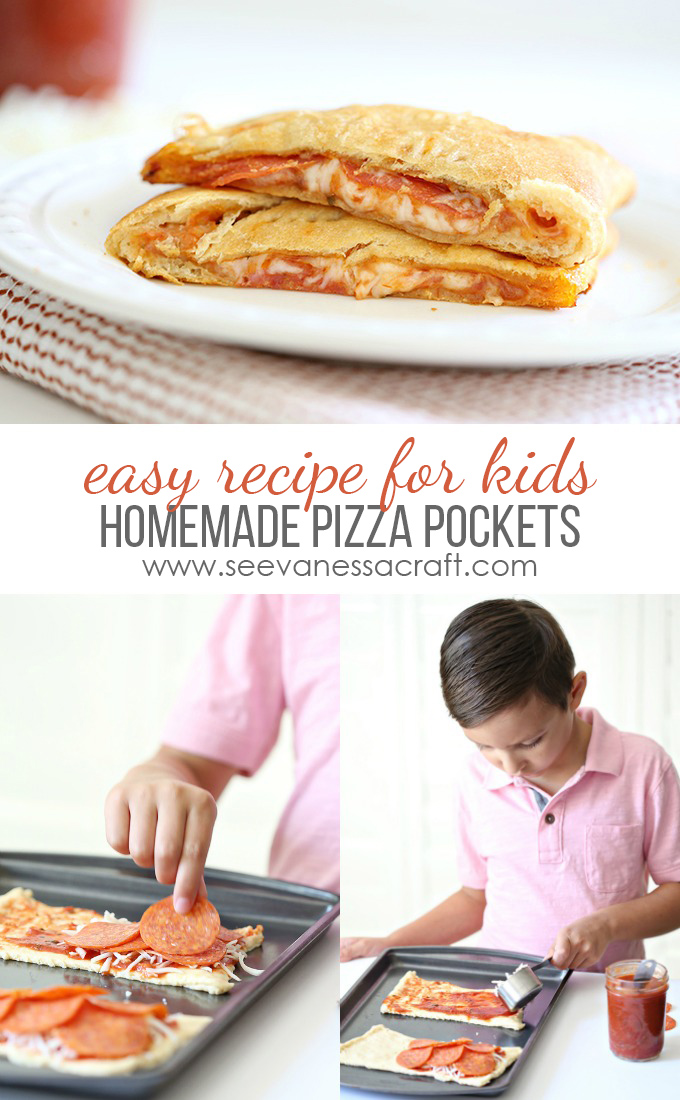 Homemade Pizza Pocket Recipe for Kids