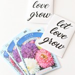 Printable: Let Love Grow Seed Packets