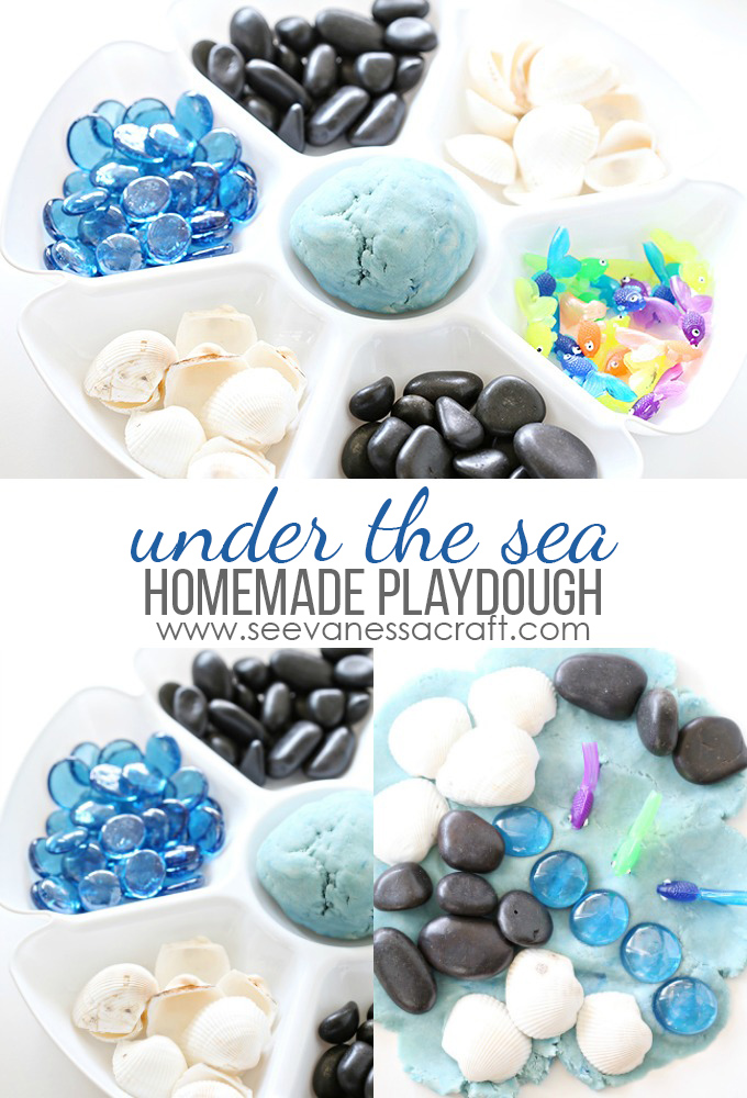 Under The Sea Ocean Homeade Playdough