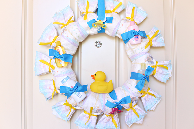 Diaper Wreath Tutorial 7 copy