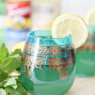 Moroccan Lemon Mint Tea Spritzer