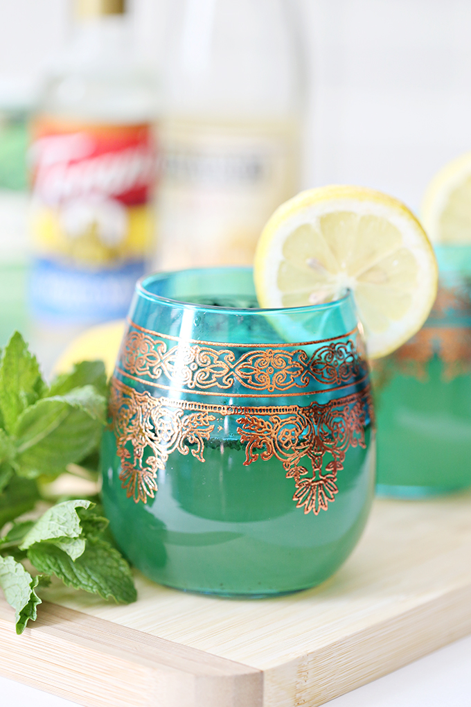 Mint Tea Lemon Spritzer Drink Recipe 6 copy