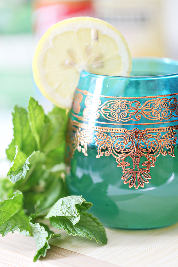 Mint Tea Lemon Spritzer Drink Recipe 7 copy