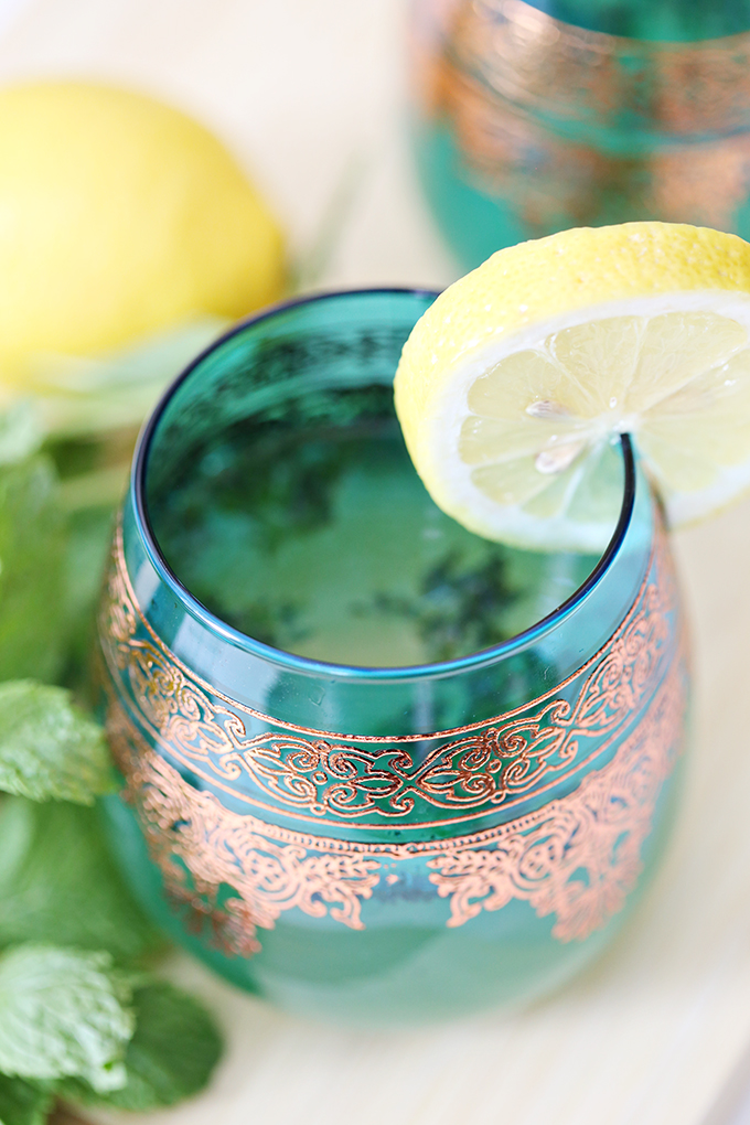 Mint Tea Lemon Spritzer Drink Recipe 8 copy