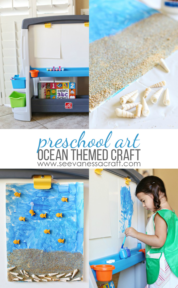 Preschool Ocean Painting Craft for Kids copy