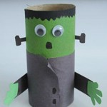 Halloween: Frankenstein Monster Craft for Kids