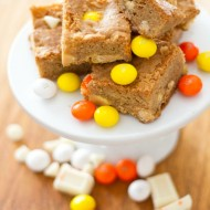 Halloween White Chocolate Candy Corn Chango Bar Dessert Recipe