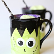 Halloween: Frankenstein Lime Sorbet Punch