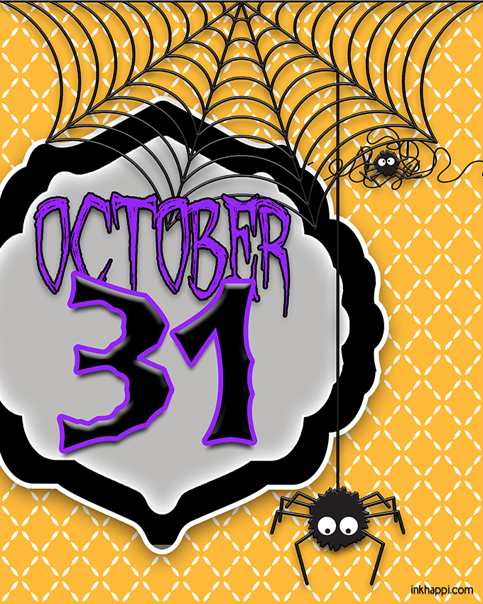 halloween printable october 31 - Why Is Halloween On The 31st Of October