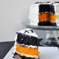 Halloween: Jack Skellington Cake