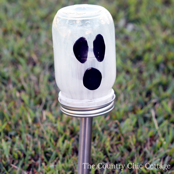 ghost solar lights for Halloween-004
