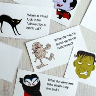 Free Printable Halloween Jokes for Kids Lunchbox