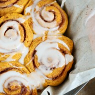 Homemade Pumpkin Cinnamon Rolls Recipe