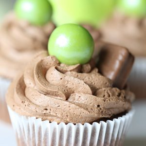 Tim Tam Chocolate Ganache Cupcakes