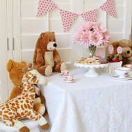 Valentine's Day Teddy Bear Tea Party and Free Printables