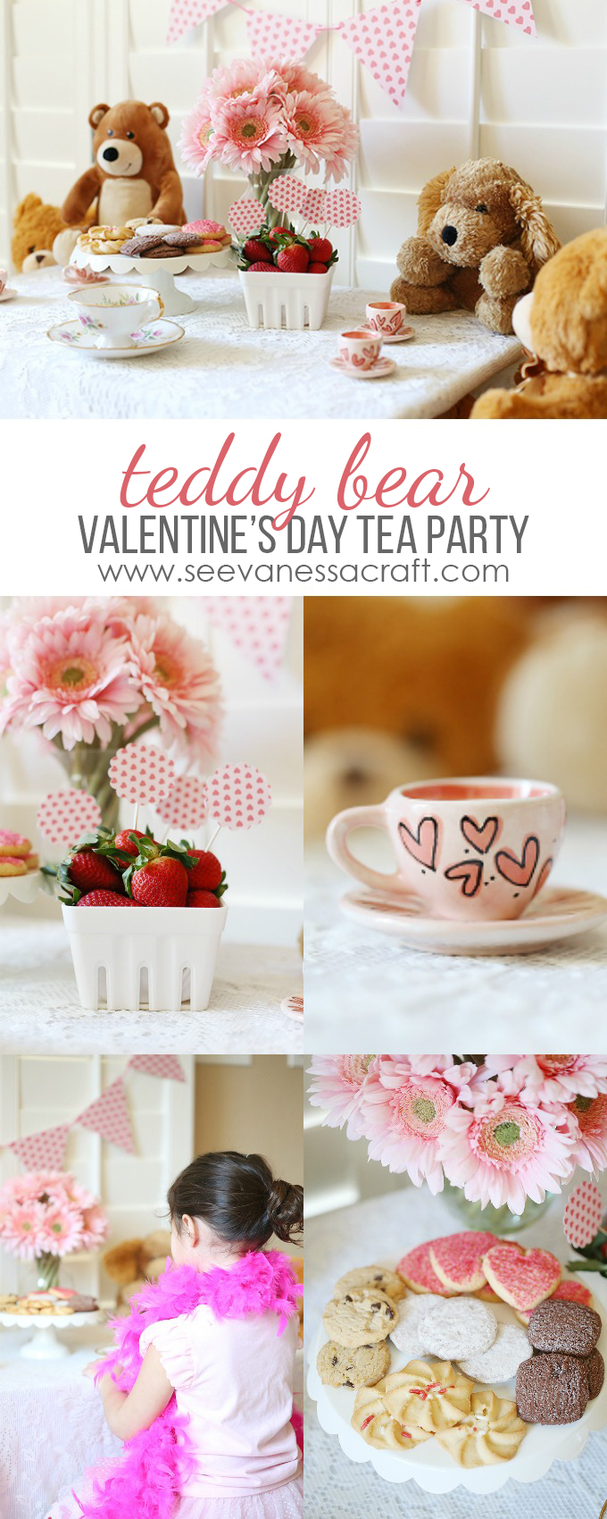 Valentines Day Teddy Bear Tea Party copy