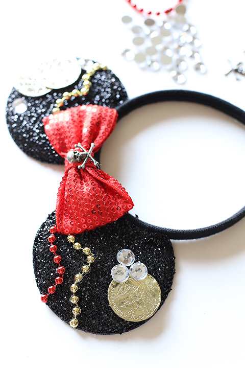 5aa5433c9 Disney: Mickey Pirate Ears for Disney Cruise - See Vanessa Craft