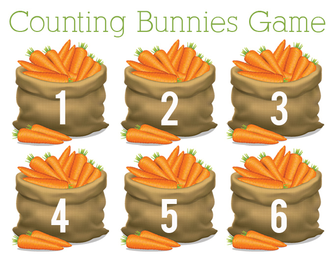 Counting Bunnies Game