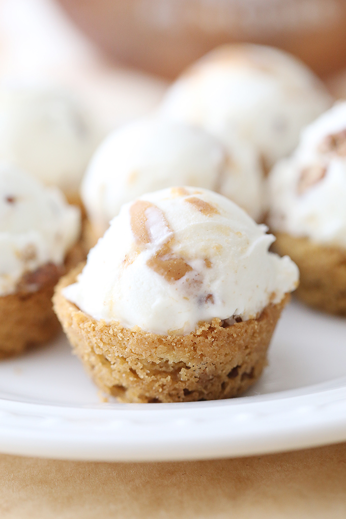 Peanut Butter Ice Cream Cookie Cups 10 copy