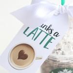 Craft: Thanks A Latte Starbucks Teacher Gift