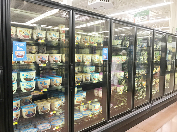 Walmart Blue Bunny Ice Cream