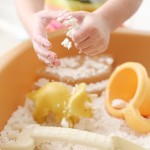 Craft: Dinosaur Dig Magic Sand Recipe
