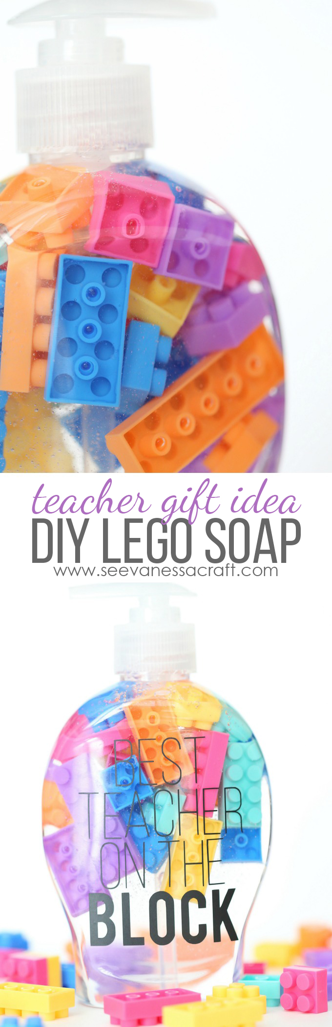 Best Teacher On The Block LEGO Soap Gift copy