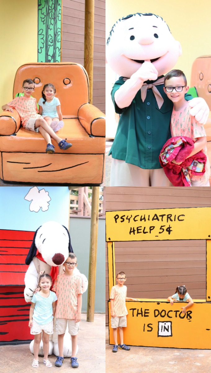 Knotts Berry Farm Peanuts Gang Meet and Greet