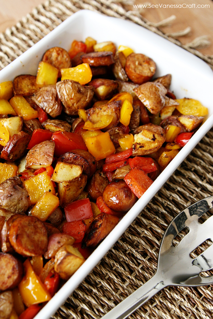 Sausage-Potato-Pepper-Recipe