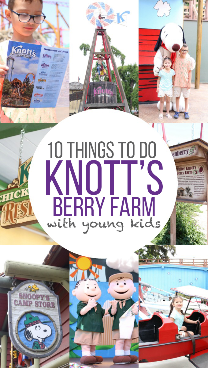 Things To Do at Knotts Berry Farm