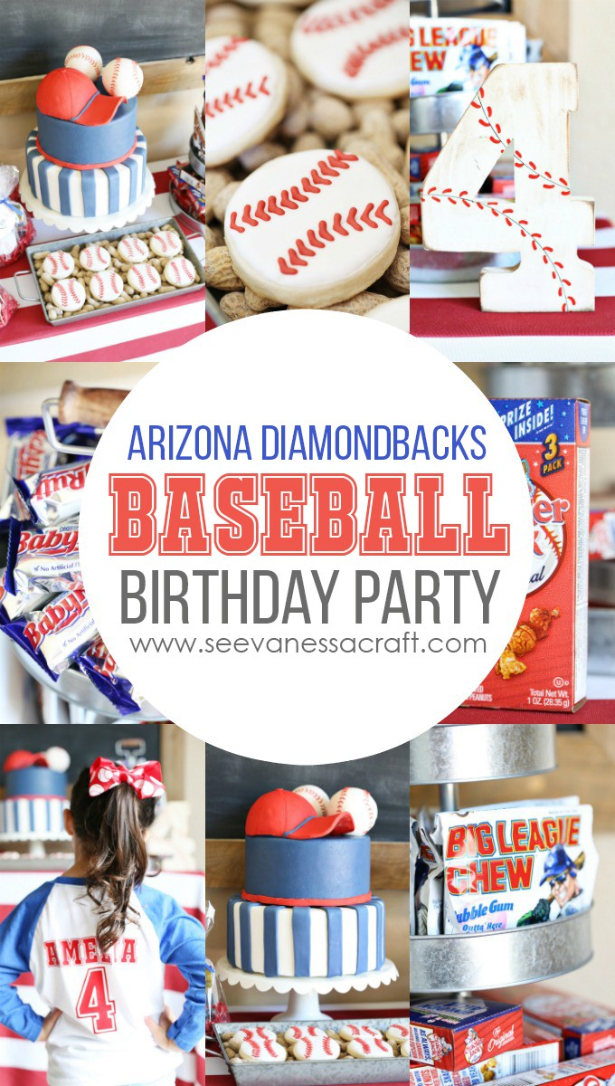 Baseball Birthday Party at Chase Field with Arizona Diamondbacks copy