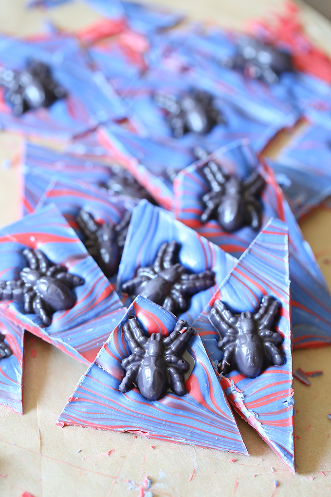 Spider Man Chocolate Bark 1 copy
