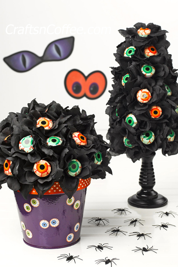 Halloween Lollipop Bouquet Craft 1