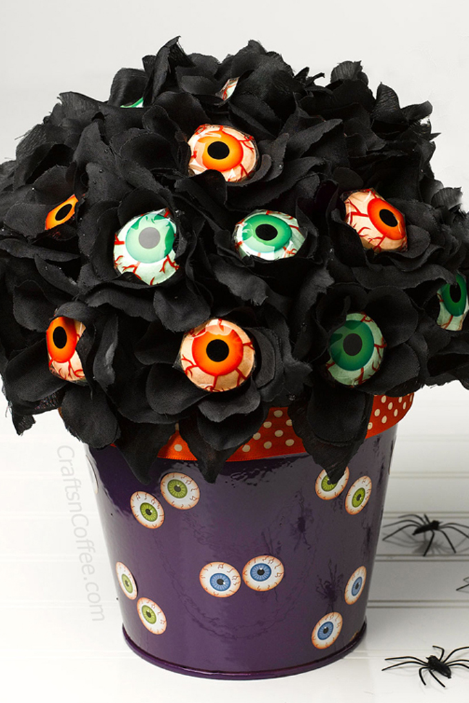 Halloween Lollipop Bouquet Craft 2