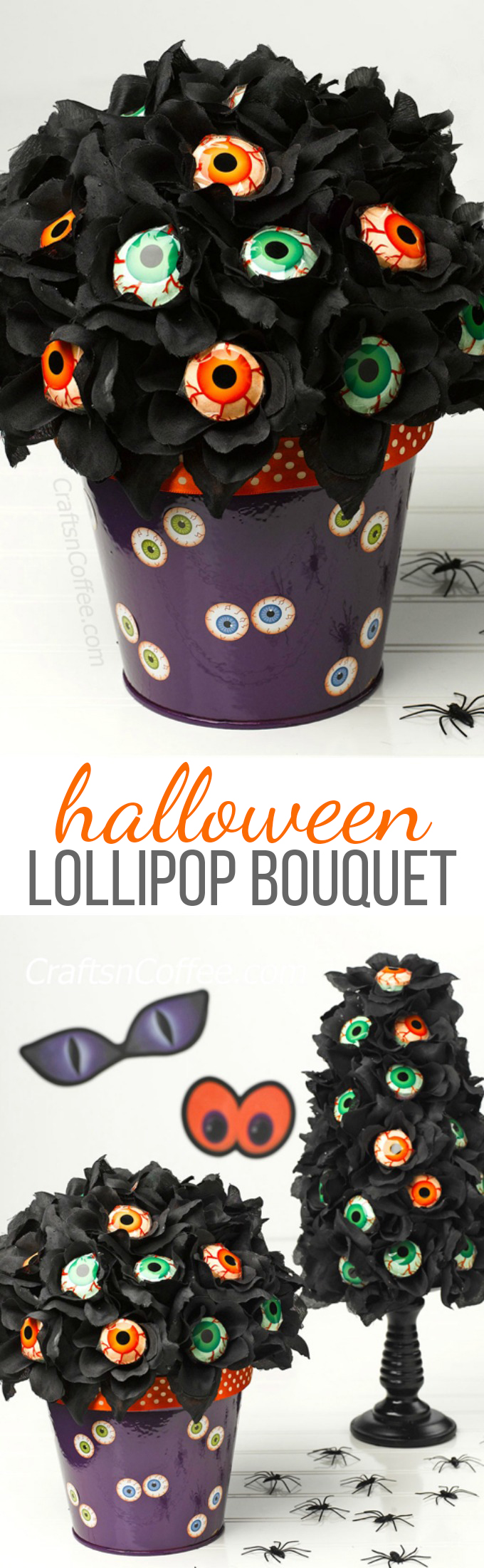 Halloween Lollipop Bouquet