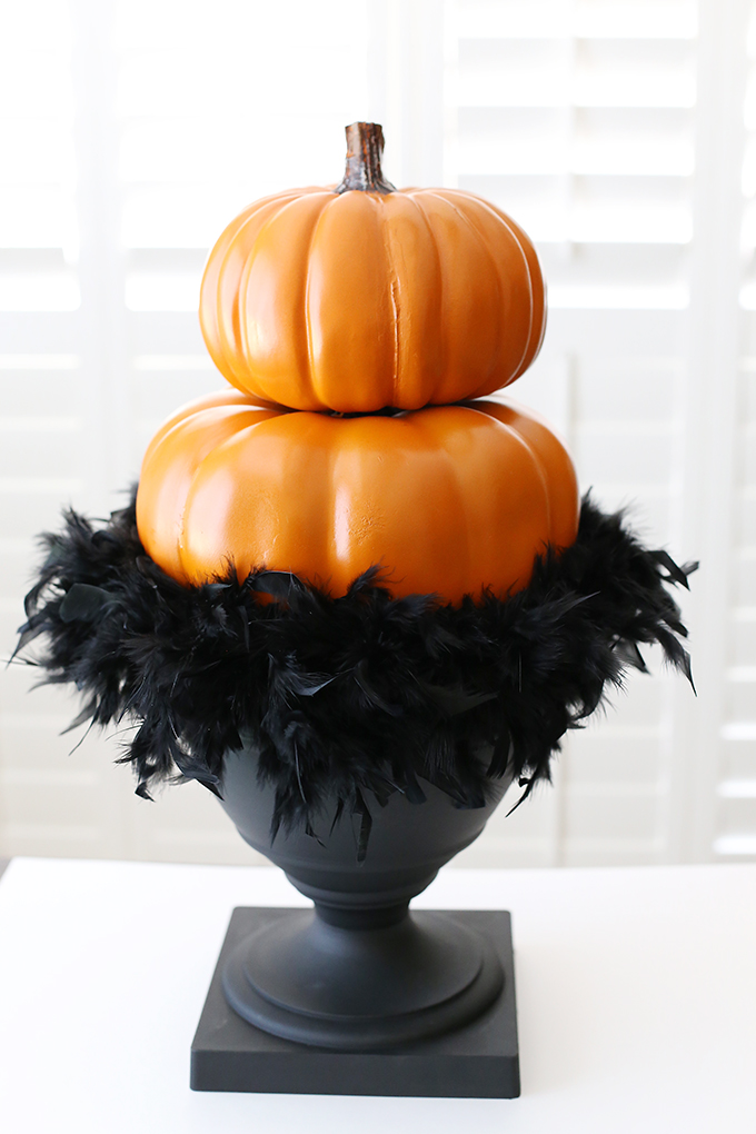 Halloween Pumpkin Topiary 6 copy