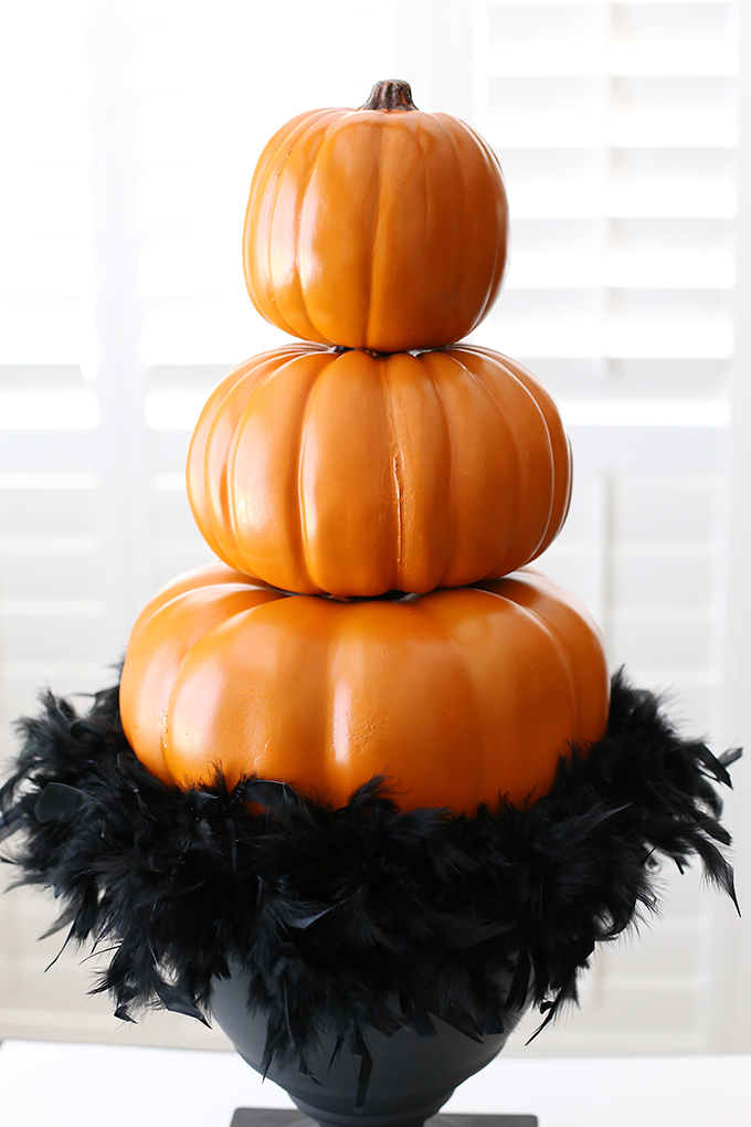 Halloween Pumpkin Topiary 7 copy