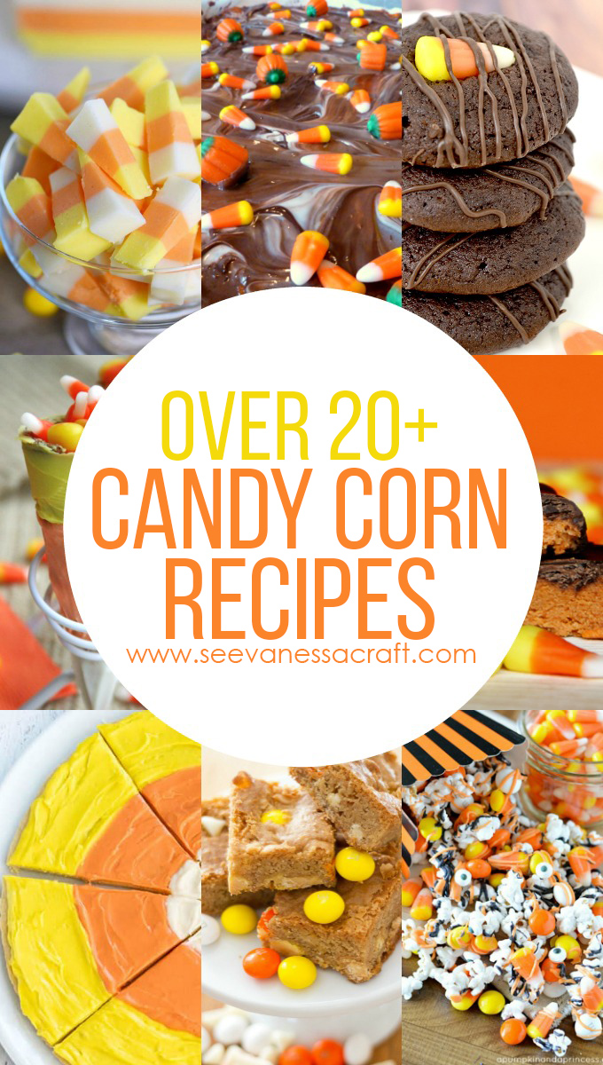Over 20 Candy Corn Halloween Dessert Recipes